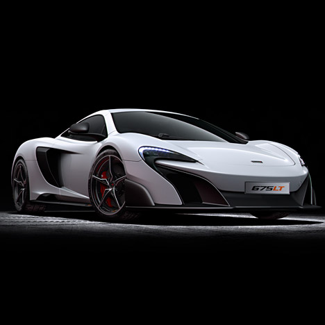 McLaren unveils designs for 675LT supercar