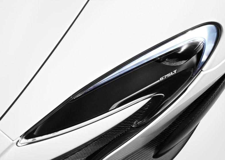 McLaren 675 LT supercar