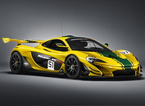 McLaren upgrades its P1 supercar for the race track