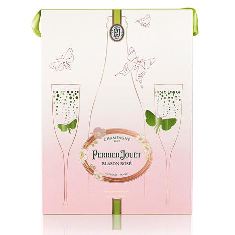 Mischer'sTraxler's packaging for Perrier-Jouët's Blasson Rosé