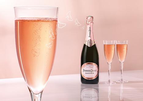 Mischer'Traxler's champagne flute for Perrier-Jouët's Blasson Rosé