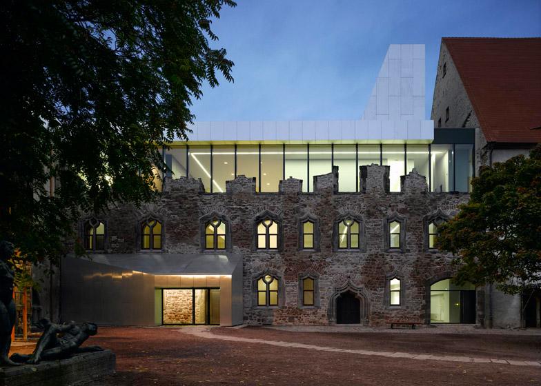 Moritzburg Museum Extension by Nieto Sobejano Arquitectos