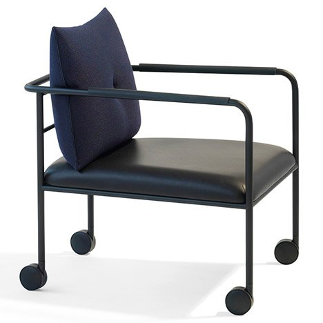 Morris Jr chair by Johan Lindau, Stefan Borselius and Thomas Bernstrand for Blå Station