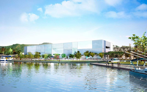 Marine science museum by Foster + Partners starts on site in Taiwan