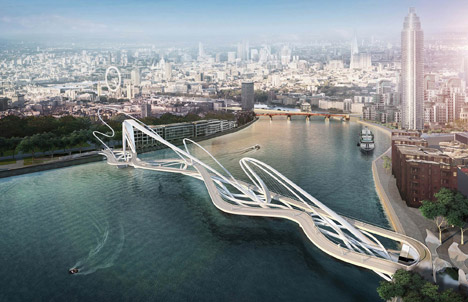 Nine Elms bridge designs
