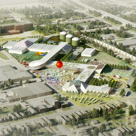 OMA unveils masterplan for community farming facility in Kentucky