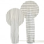 René Barba creates lollipop-shaped lamp from paper-like fabric for Ligne Roset
