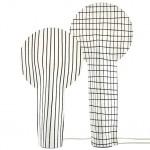 René Barba creates lollipop-shaped lamp from paper-like fabric for Ligne Roset