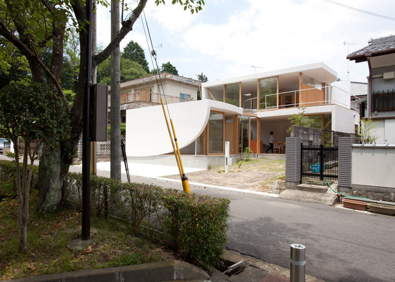 Park and House by Tsuyoshi Kawata