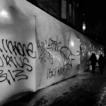 "SO-IL's Storefront gallery installation vandalised with ""poor quality"" graffiti"