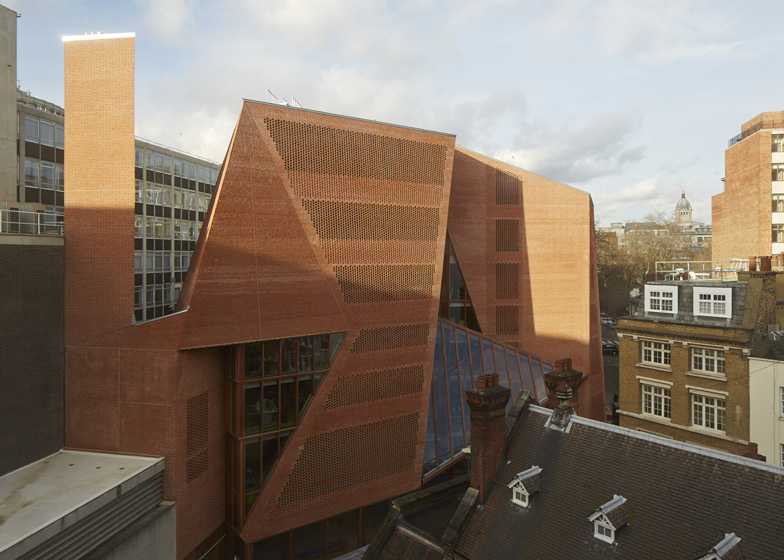 Saw Swee Hock Student Centre, London School of Economics, London, UK, by O'Donnell + Tuomey
