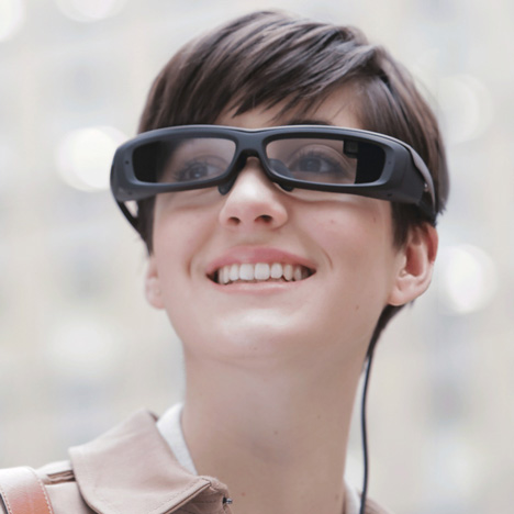 Sony to release SmartEyeglass devices next month