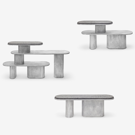 Jeonghwa Seo experiments with form for Structure For Use benches