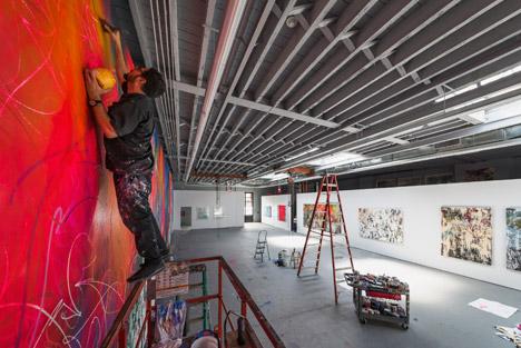 Studio for Jose Parla by Snohetta
