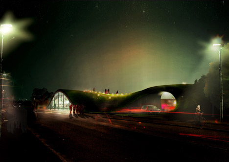 Sydhavns Recycling Center by BIG