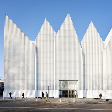 Szczecin Philharmonic Hall in Poland captured in new photographs by Hufton + Crow