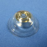 Telescopic contact lenses zoom in and out with right and left winks