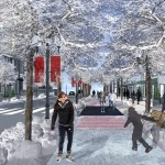 Canadian Freezeway could become world's first curb-side skating lane