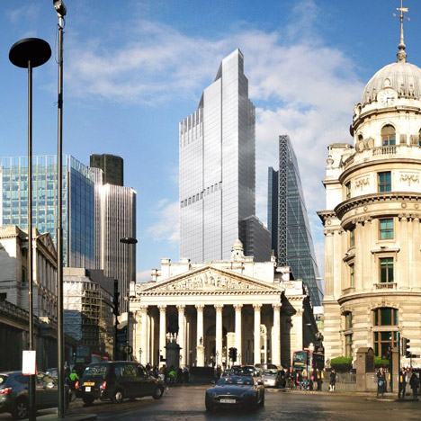 Leaked designs reveal replacement for London's part-built Pinnacle skyscraper