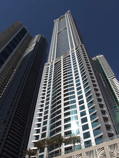 Torch skyscraper in Dubai