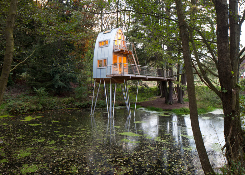 1 Of 5; Treehouse Solling By Andreas Wenning