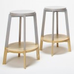 Naoya Matsumoto Design creates two-tone stools
