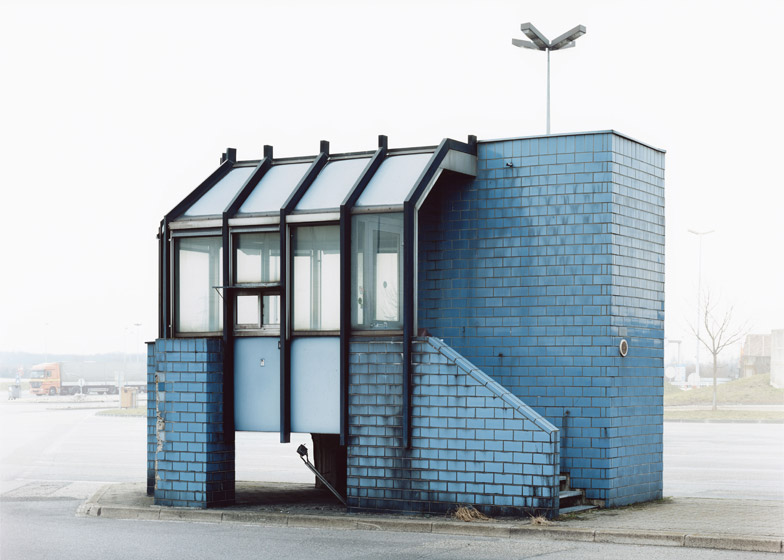 Josef Schulz documents abandoned checkpoint architecture across Europe