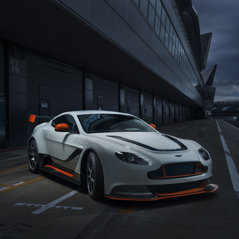 "Aston Martin's Vantage GT3 is designed to ""bridge the gap between road and track"""