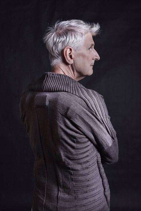 Pauline van Dongen's Vigour cardigan senses how well its wearer is moving