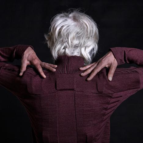 Pauline van Dongen's Vigour cardigan senses how well its wearer is moving