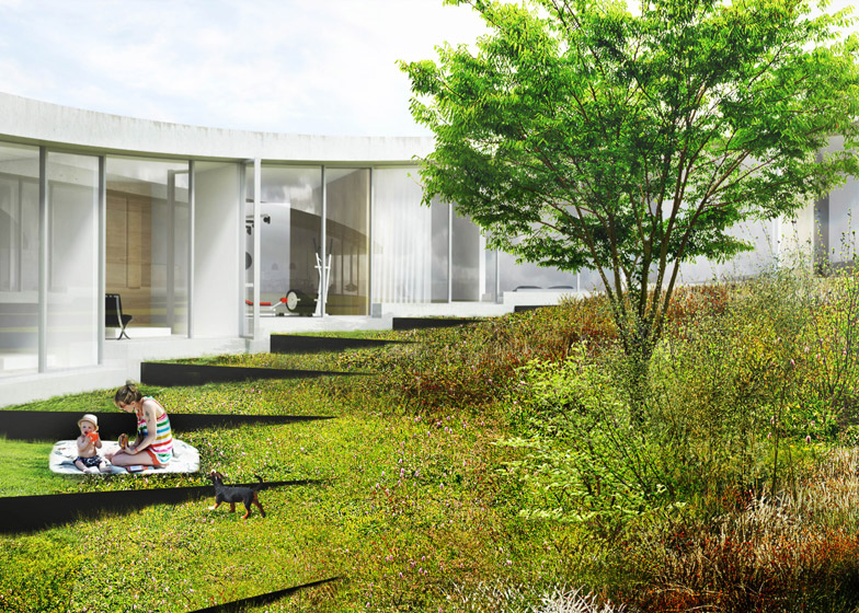 Villa Gug by BIG