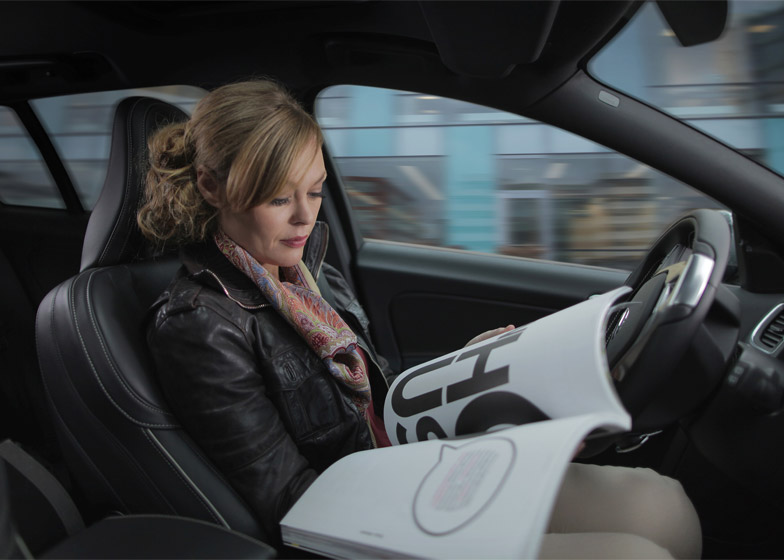 Volvo pilot self-driving cars on Swedish roadsVolvo pilot self-driving cars on Swedish roads