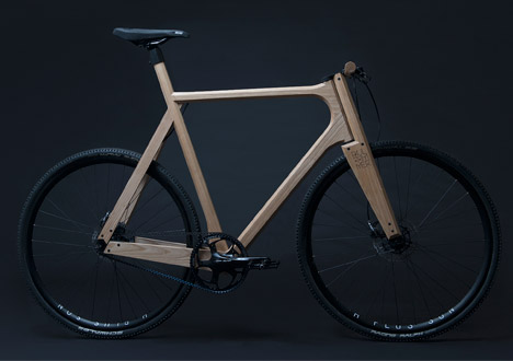 wooden bicycle by paul timmer - Wooden Bike Frame