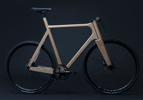 Wooden bicycle by Paul Timmer