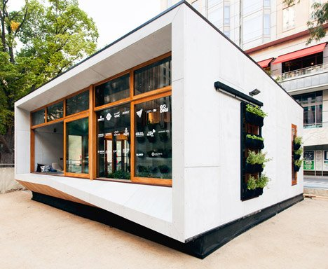 World's First Carbon Positive House by ArchiBlox