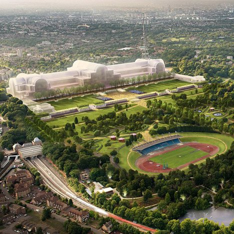 Zaha, Rogers and Chipperfield shortlisted for Crystal Palace rebuild