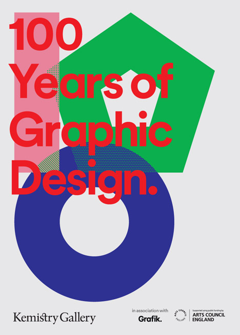 '100 Years of Graphic Design', Kemistry Gallery