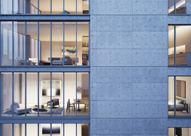 152 Elizabeth Street New York by Tadao Ando
