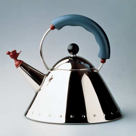 "Alessi to launch special edition of kettle by ""design hero"" Michael Graves"