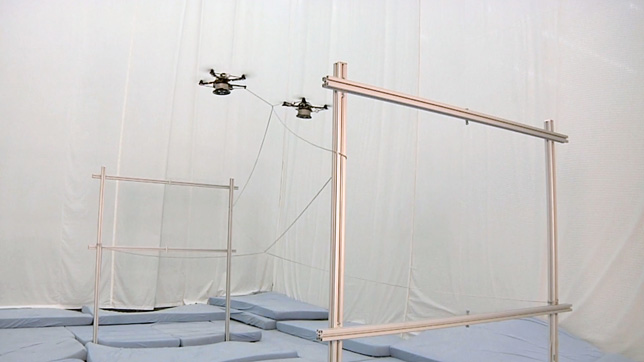 Aerial Constructions by Gramazio Kohler Research