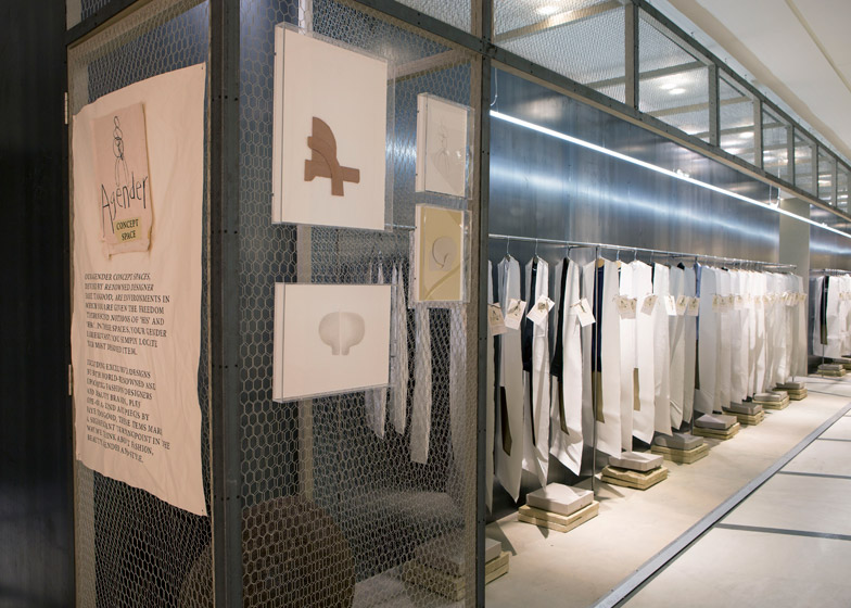 Faye Toogood designs gender-neutral retail spaces for London's Selfridges
