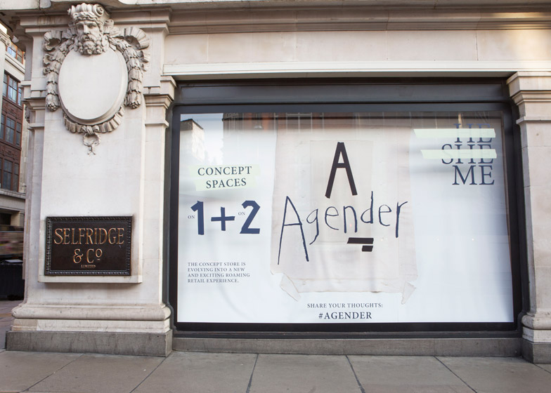 Agender concept store by Faye Toogood