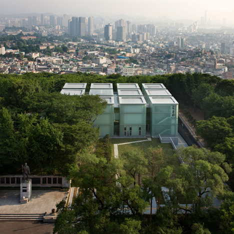 Ahn Jung-geun Memorial Hall by D-Lim Architects