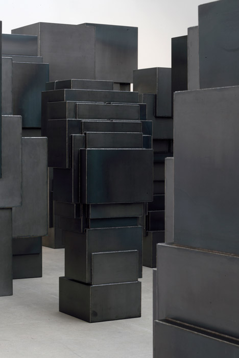 Second Body by Antony Gormley at Thaddaeus Ropac Galerie