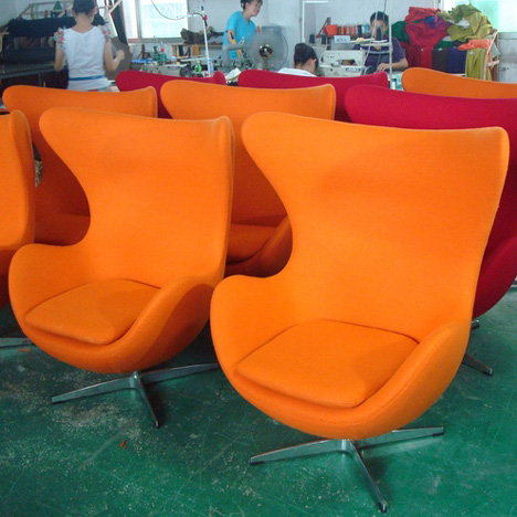 Arne Jacobsen Egg chair replicas China