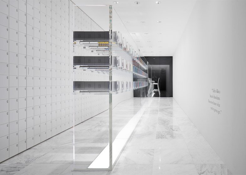 BbyB chocolate shop by Nendo