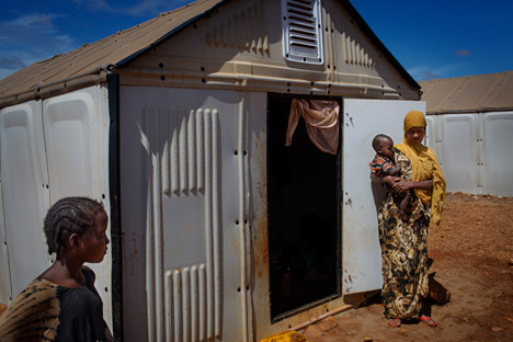 Ikea S Flat Pack Refugee Shelters Go Into Production