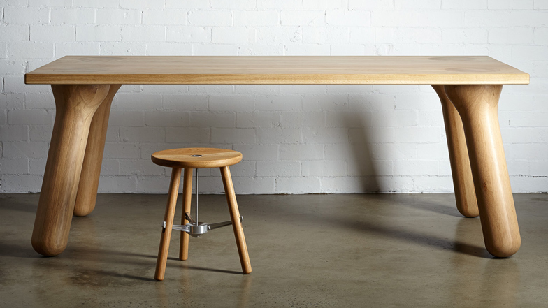Ordinaire Big Foot Dining Table By Daast