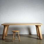Daast's Big Foot table sits on chubby wooden legs