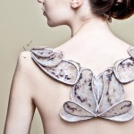 Amy Congdon's couture fashion integrates textile design and tissue engineering